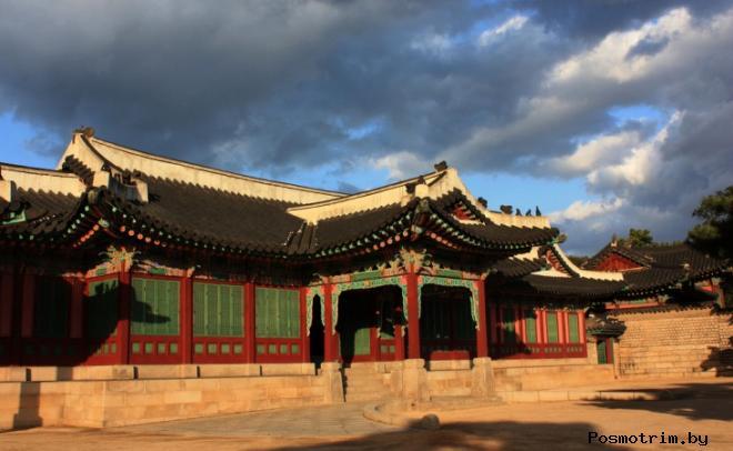 Дворец Чхандоккун Южная Корея
