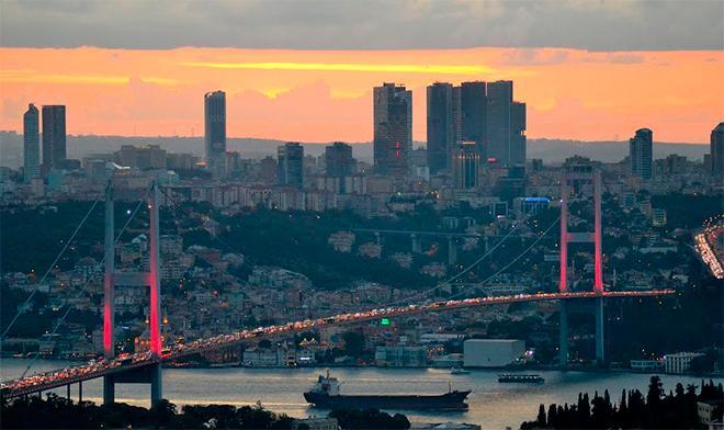 Мосты через бухту Золотой Рог
