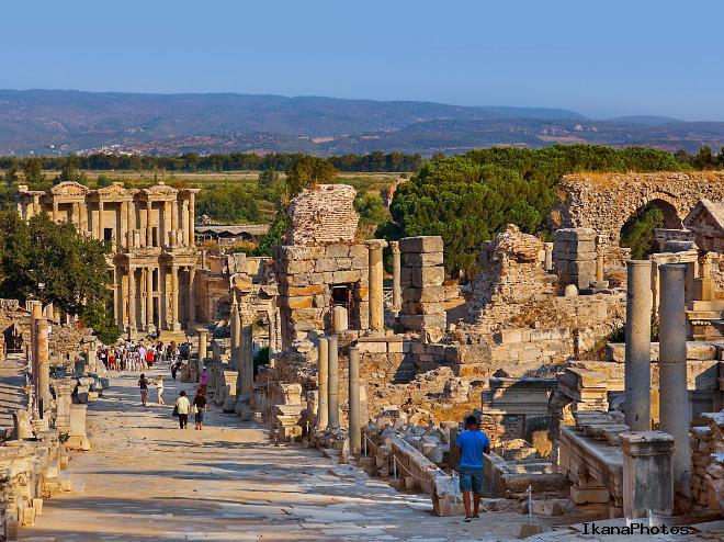 История древнего города Эфес