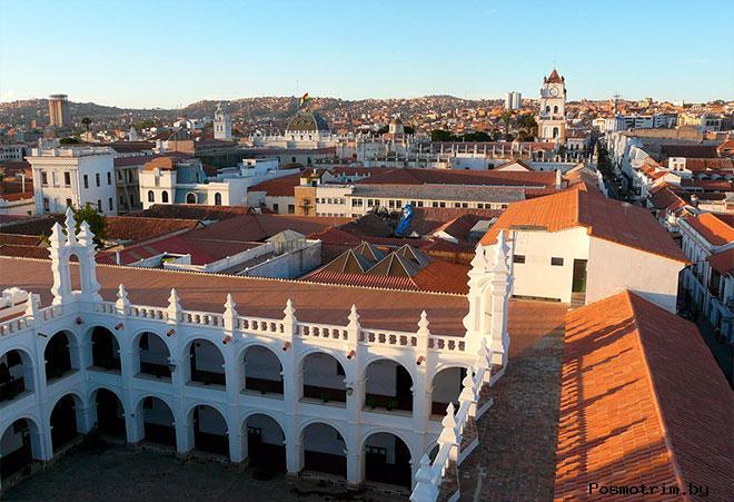 Город Сукре Боливия