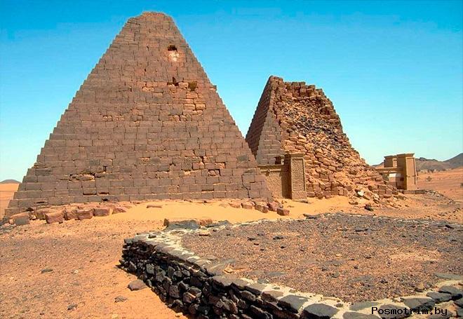 Пирамиды Мероэ Судан