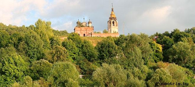 Село Исады Рязанской области