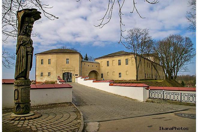 Старый замок в Гродно фото история Гродненской крепости