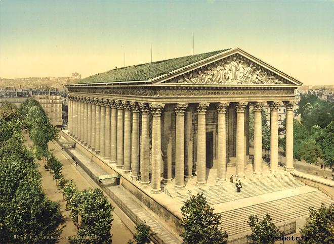Церковь Ла-Мадлен в Париже – церковь Святой Марии Магдалины
