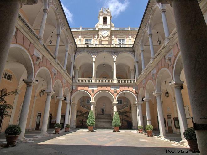 Палацци-Деи-Ролли в Генуе (Palazzi dei Rolli) – квартал дворцов
