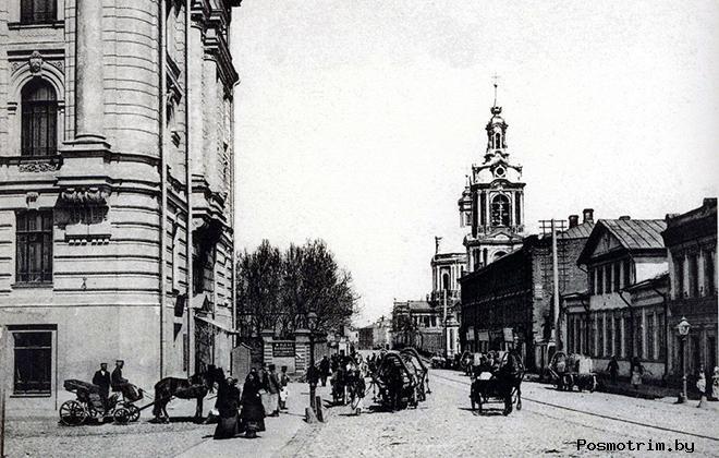 Старая Басманная улица Москвы