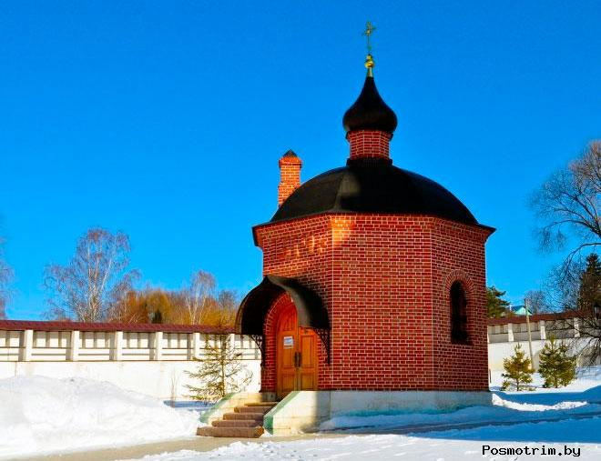 Часовня Георгия Победоносца в Старицком монастыре