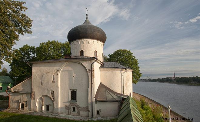 Спасо-Преображенский собор Мирожский монастырь Псков