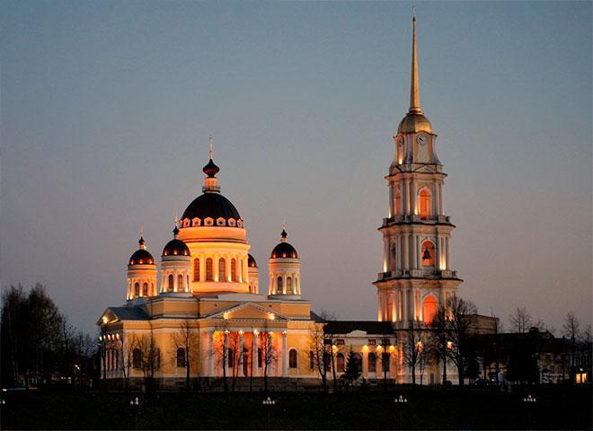 Соборная колокольня Рыбинск