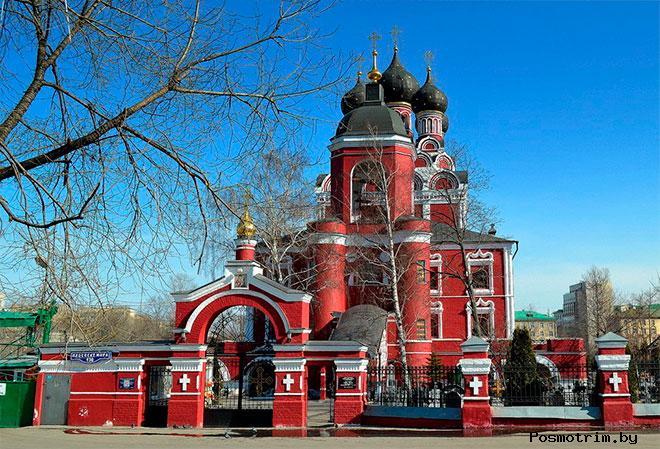 Тихвинский храм в Алексеевском Москва