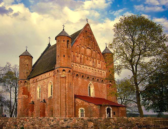 Храм-крепость Святого Михаила внутри