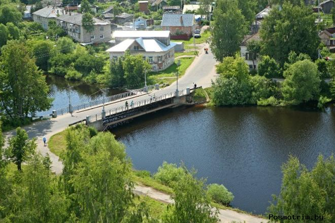 Дорога из Рыбинска в Пошехонье