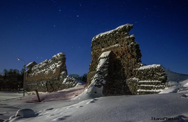 История строительства Кревского замка Беларусь