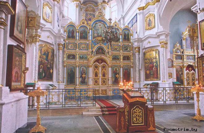 Свято-Духов собор интерьер