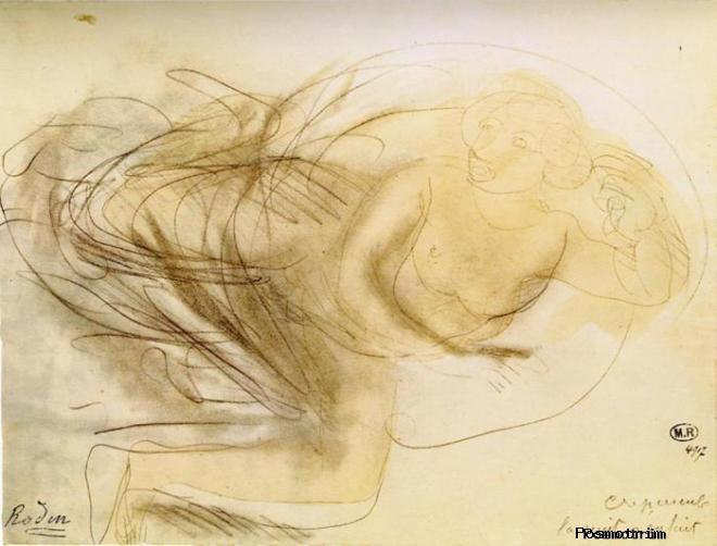 Графика Огюста Родена