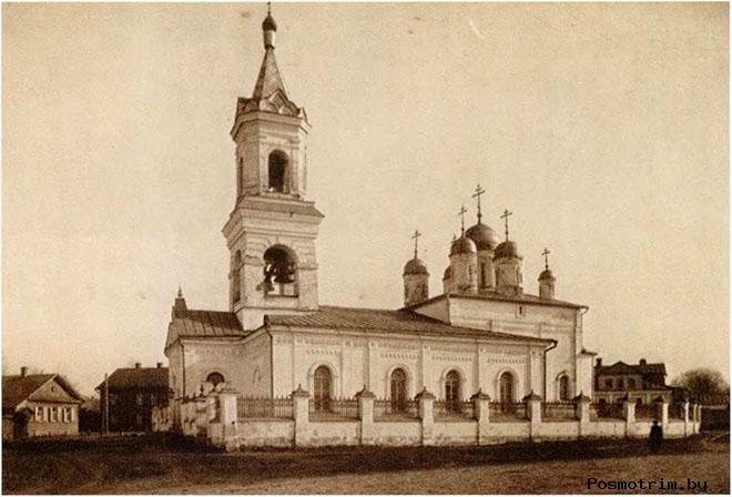 Белая Троица история строительства