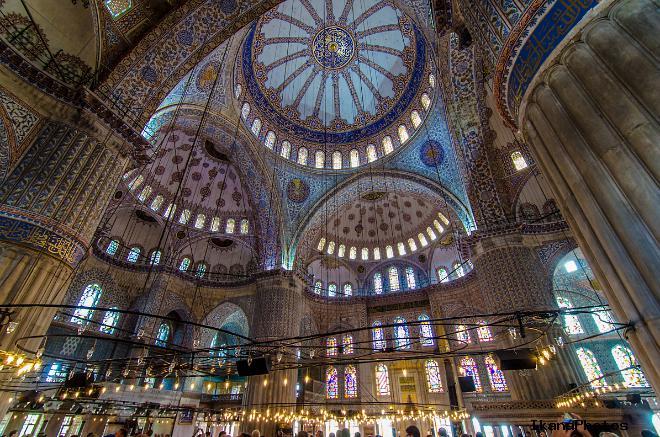 Голубая мечеть Стамбула, как добраться и стоимость посещения Мечети Султанахмед