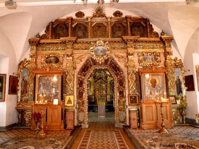 Интерьер Строгановской церкви Нижнего Новгорода