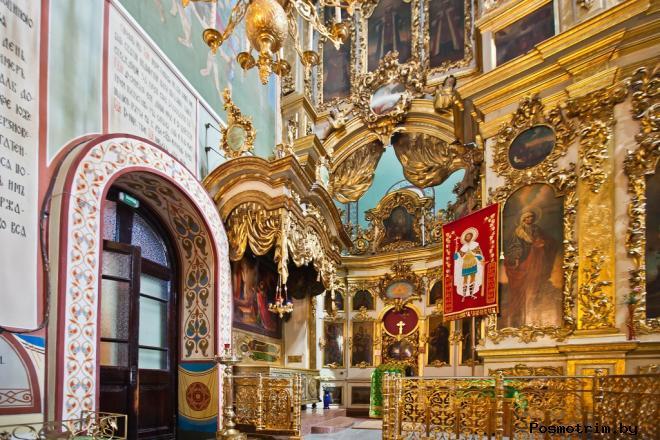 Интерьер Успенского собора Владимира