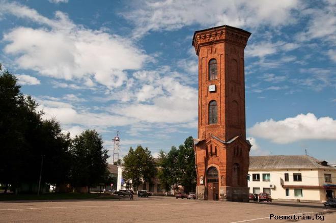 Водонапорная башня Старая Русса