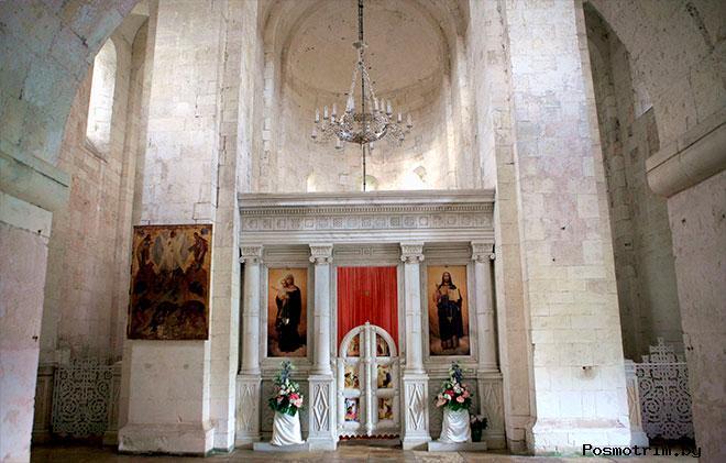 Интерьер Преображенского собора Переславль-Залесского