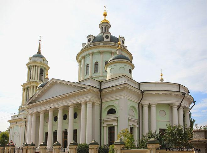 Храм Мартина Исповедника на Таганке Москва