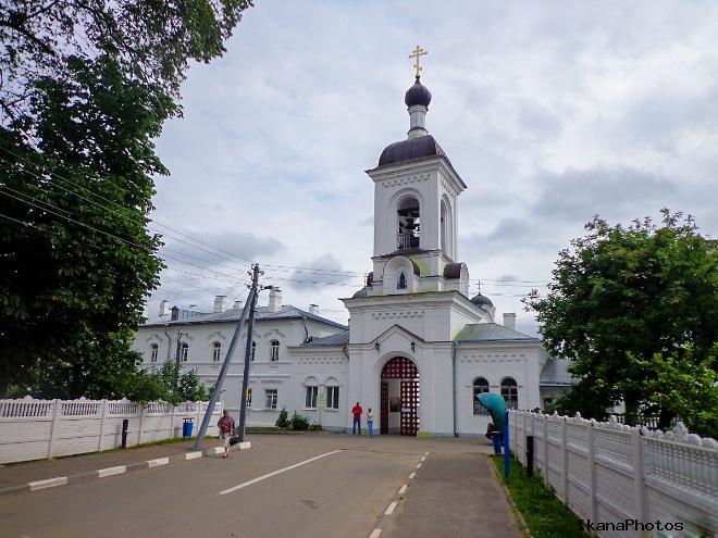 Расположение Спасо-Евфросиниевского монастыря