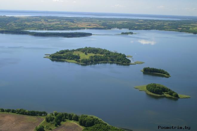 Озеро Мядель карта глубин