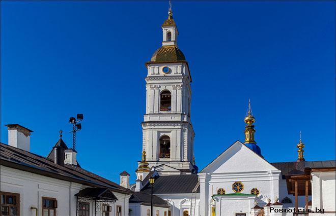 Соборная колокольня в Тобольске