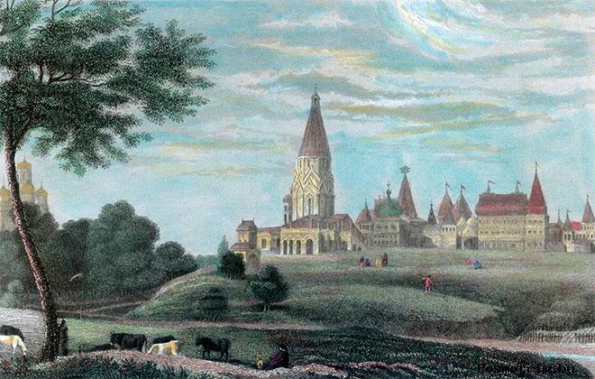 История церкви Вознесения Господнего в Коломенском