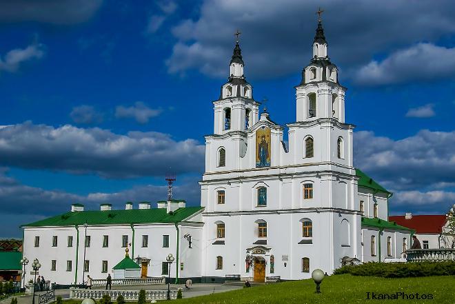 Кафедральный собор Сошествия Святого Духа Минск Беларусь - Свято-Духов кафедральный собор