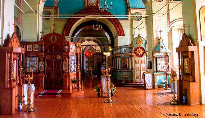 Внутри Троицкого храма Гусь-Железного