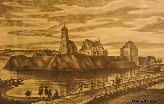Заславский замок каким был и что сталось