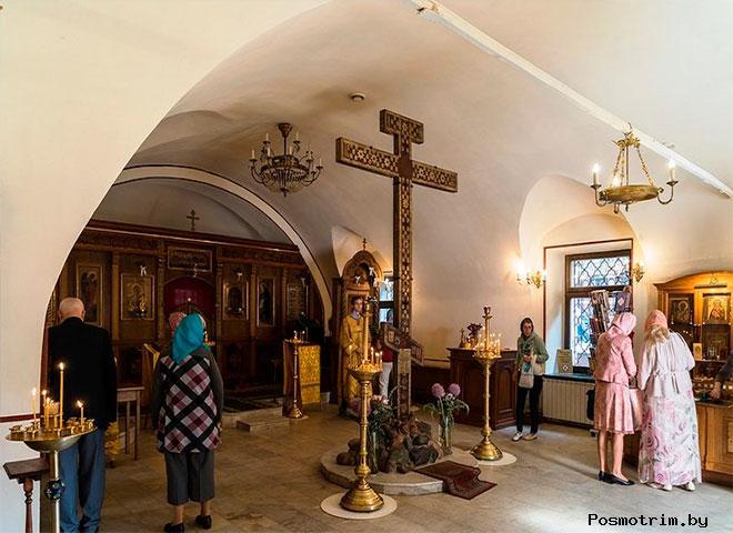 Храм Сергия Радонежского внутри