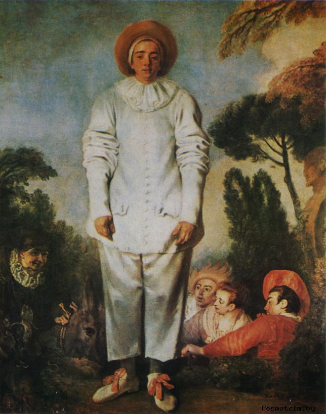 Жилль Творчество Антуана Ватто (1684- 1721)