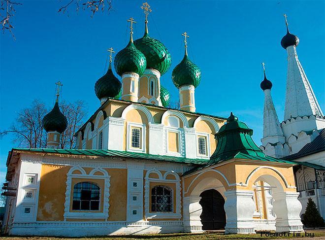 Предтеченский храм Алексеевского монастыря Углича