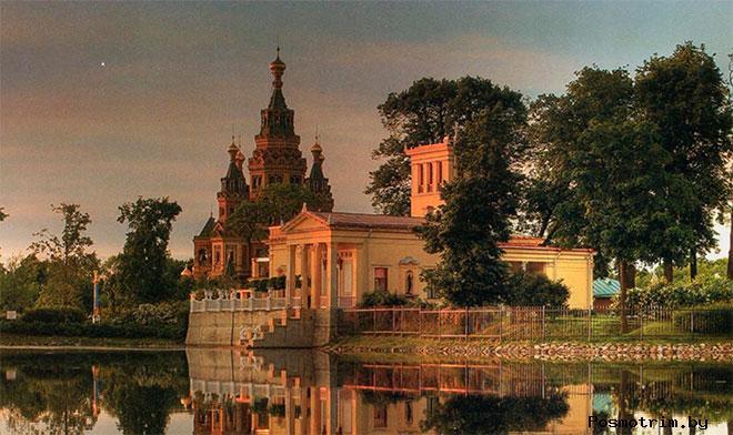История собора Петра и Павла в Петергофе