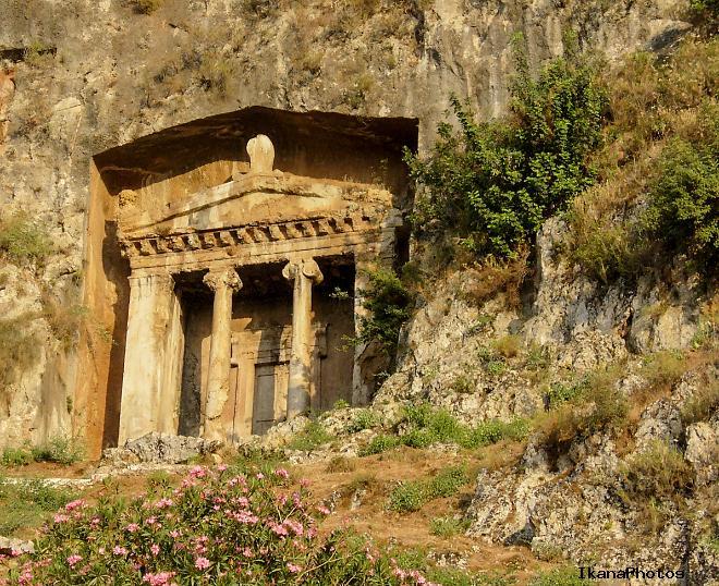 Ликийские гробницы – гробница Аминтаса