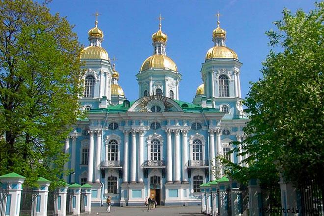 Николо-Богоявленский Морской собор Санкт-Петербург