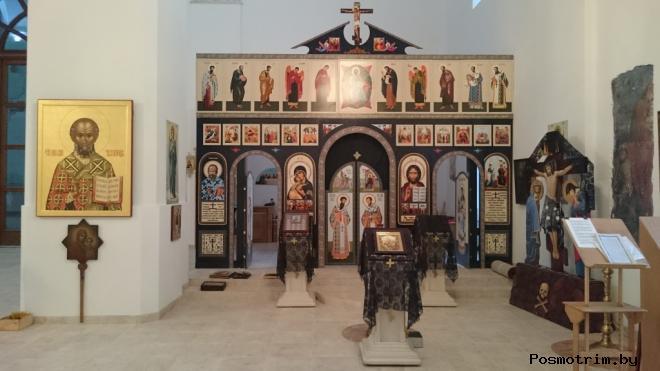 Внутри Воскресенского собора Кашина
