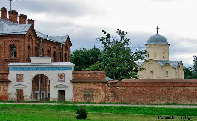 Успенский монастырь Старая Ладога