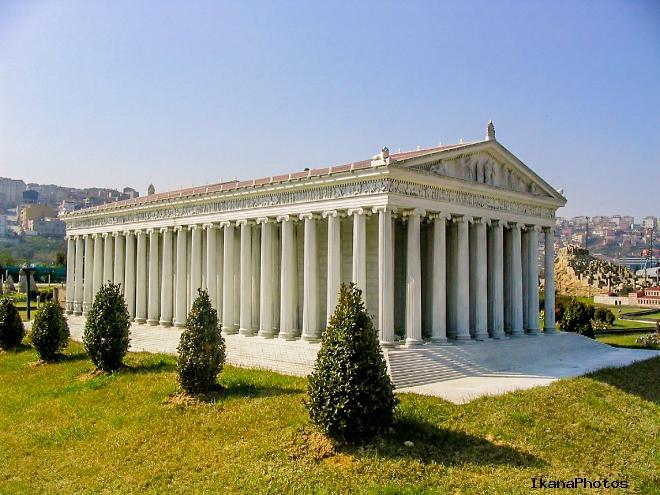 Храм Артемиды легенда
