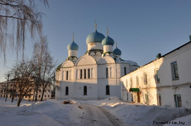 Богоявленский монастырь Углич
