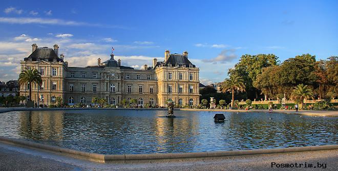 Люксембургский дворец в Париже — бывшая резиденция Марии Медичи