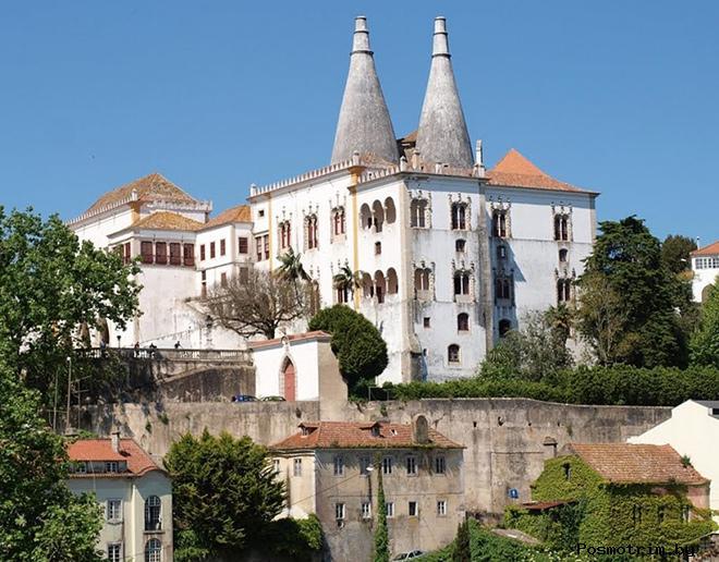 Замок Синтра Португалия Синтра