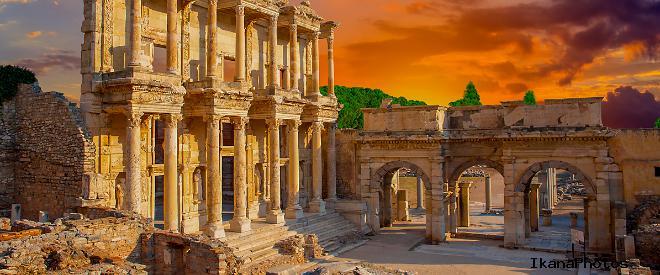 Древний город Эфес в Турции фото история как добраться посетить город Эфес самостоятельно