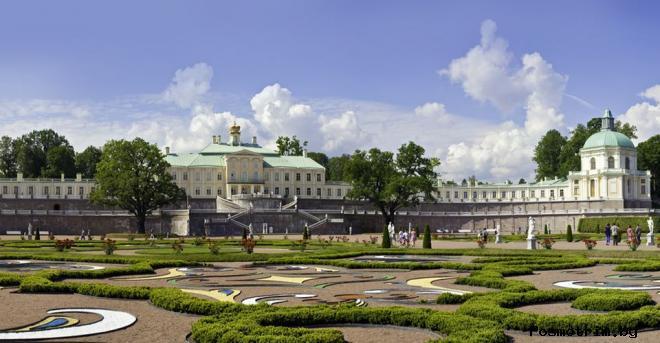 Ораниенбаум дворцово-парковый ансамбль