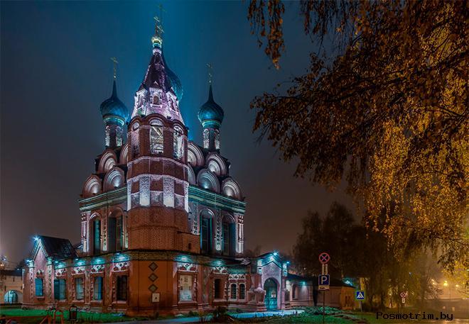 История церкви Богоявления в Ярославле