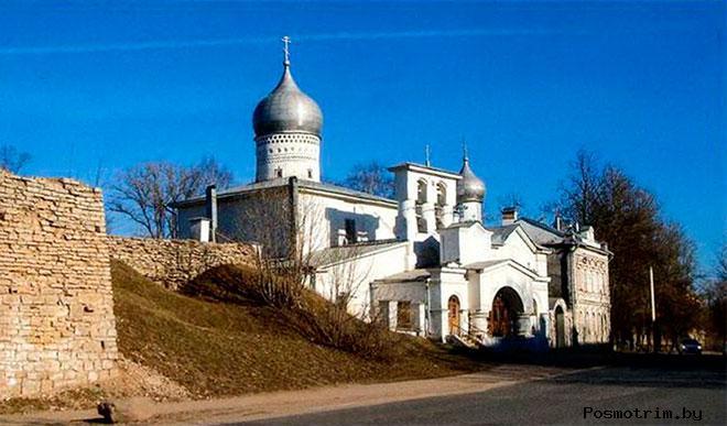 Варлаамский храм на Званище Псков