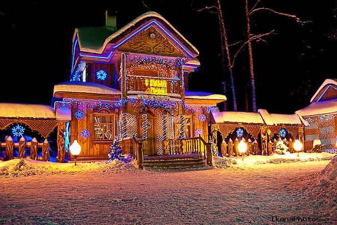 Национальный парк Беловежская пуща резиденция Белорусского Деда Мороза